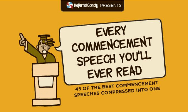 Every Commencement Speech You'll Ever Read