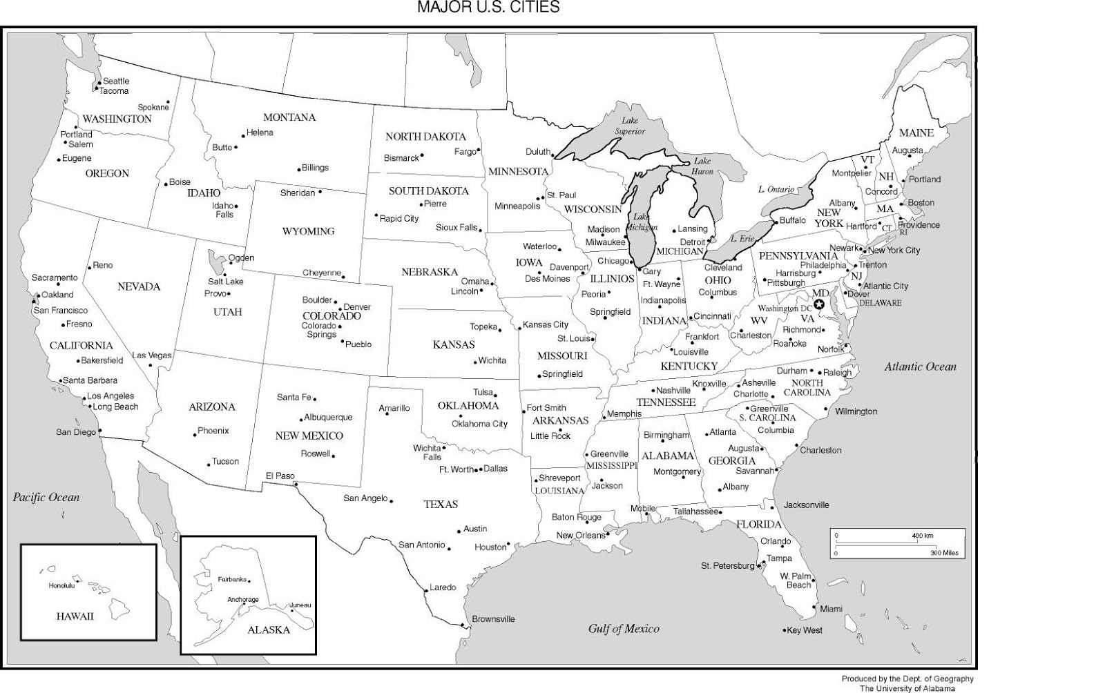 United States Map | Map of USA