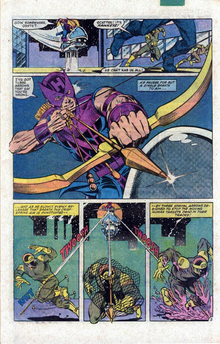 Hawkeye (1983) Issue #1 #1 - English 4