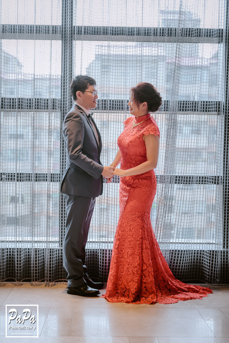 PAPA-PHOTO 萬豪 酒店 8樓 Garden Villa 婚攝作品