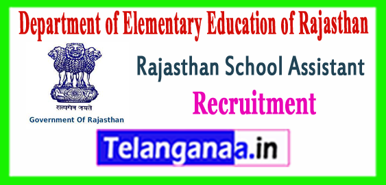 Rajasthan Vidyalaya Sahayak Recruitment 2017-18