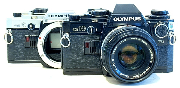 The Om-10 is available in both black and chrome