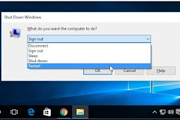 Boot ulang komputer Windows XP menggunakan Remote Desktop Protocol (RDP)