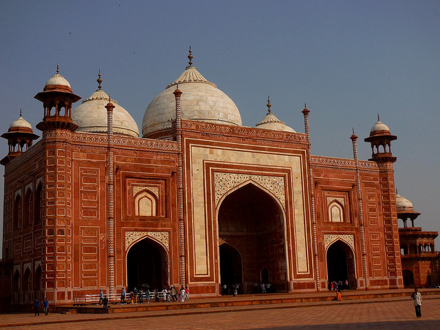 Mosque inside Taj Mahal