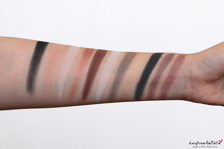 Laura Mercier Eye Art Caviar Colour-Inspired Edition - Eyeshadow Palette Swatches, Review,  MOTD