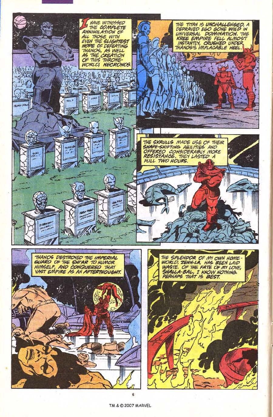 Read online Silver Surfer (1987) comic -  Issue #56 - 8
