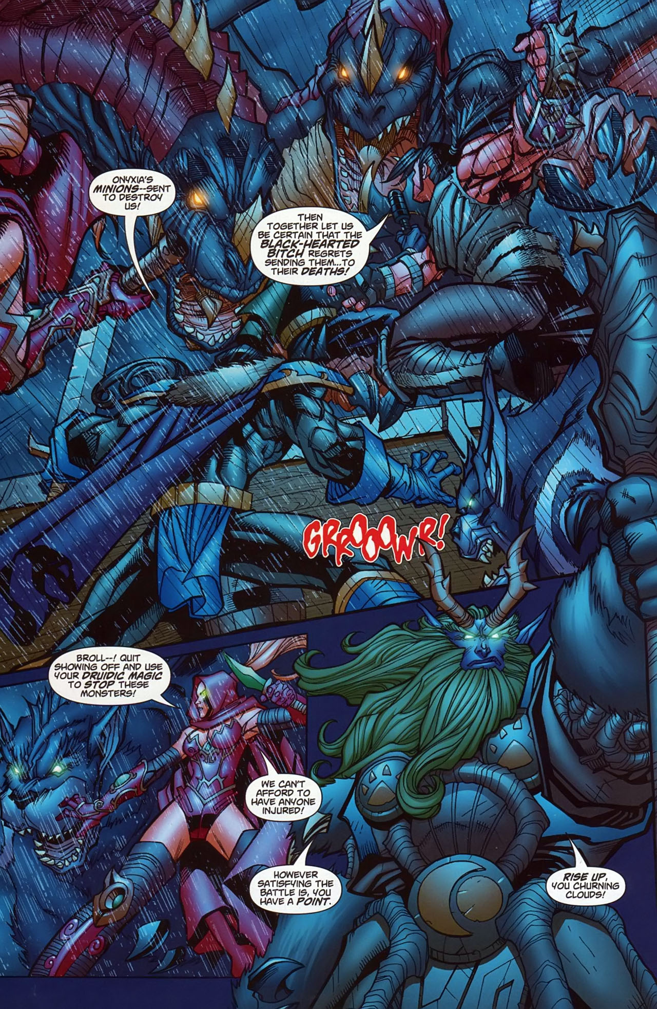 Read online World of Warcraft comic -  Issue #13 - 11