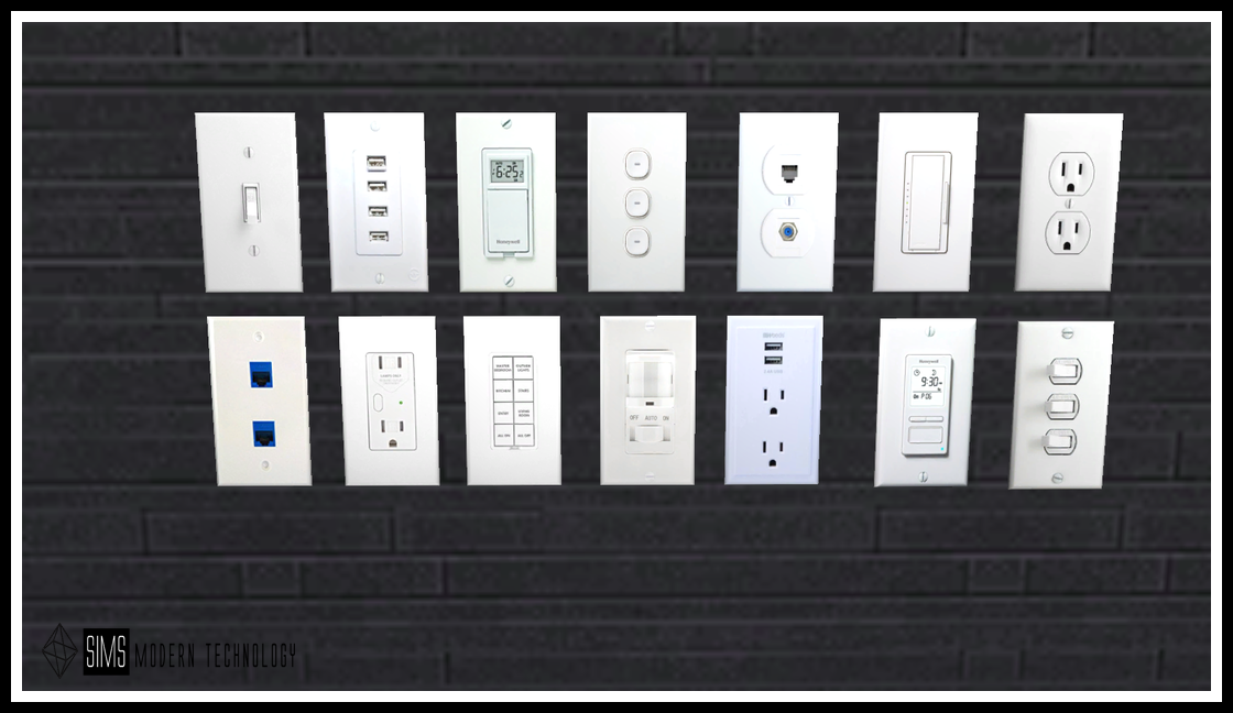MG24 IDBD Light Switch Outlets Retextures
