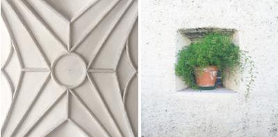 Bolzano South Tyrol - plaster ceiling - asperagus