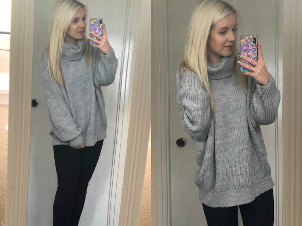 Winter OOTD | Grey Jumper Goals