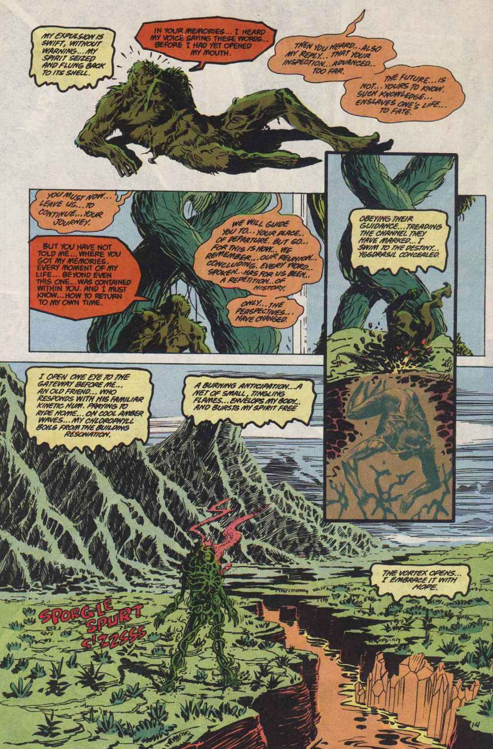 Swamp Thing (1982) Issue #89 #97 - English 15