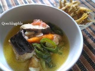 Resep dan Cara Membuat Ikan Pari  Kuah Santan