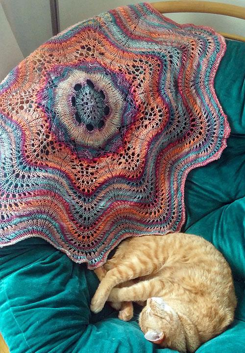 Hemlock Ring Blanket - Free Pattern