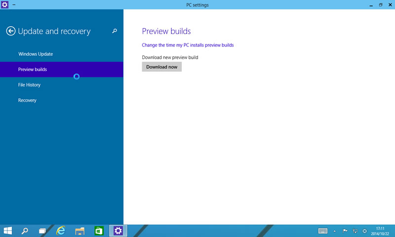 【Windows Technical Preview】ビルド9860 2