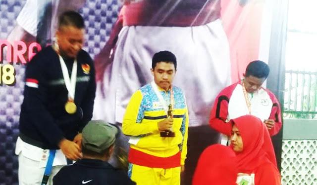 Perolehan Medali Emas di Porda Ke XVI 2018, di Kab Pinrang