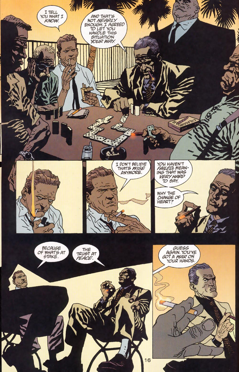 Read online 100 Bullets comic -  Issue #39 - 18