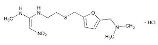 Ranitidin secara kompetitif menghambat histamin pada H Ranitidin