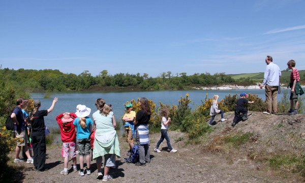 Meeth Quarry Discovery Day - Photo copyright DWT (All rights Reserved)