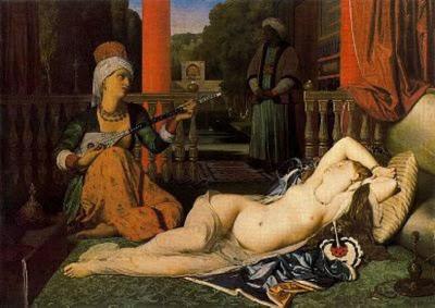 ODALISCA CON ESCLAVA. Ingres 1842+Odalsica+con+esclava+Oleo+sobre+lienzo+76+x+105%252C4+Walteers+Art+Gallery+Baltimore