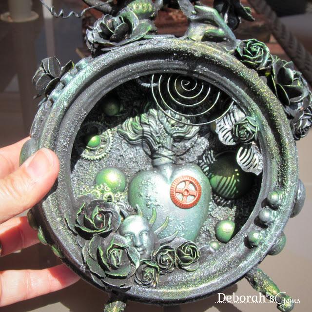 Clockwork Lime - photo by Deborah Frings - Deborah's Gems