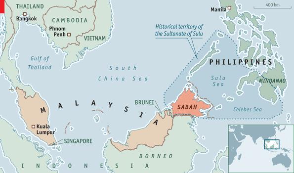 Malaysia Tolak Sabah Dijadikan Negara Bagian ke-13 Filipina