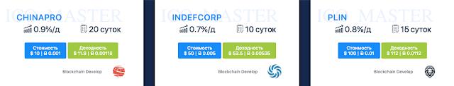 Маркетинг в проекте ico master com. Рефбек 3%