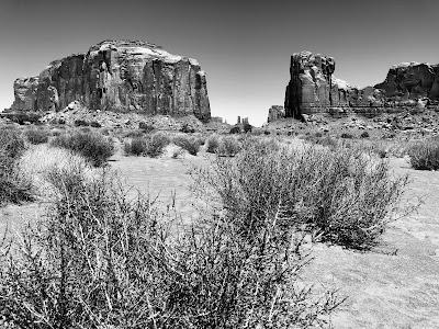 Monument Valley from Valley Drive.