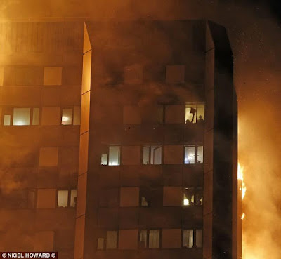 Miraculous story of a 4yr old girl caught by a neighbor after her desperate mother threw her off the burning Grenfell Tower to save her life