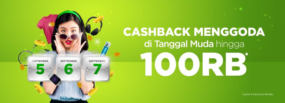 Tokopedia - Promo Voucher Caschnack s.d 100 RIbu di Tanggal Muda (s.d 7 Sept 2018)