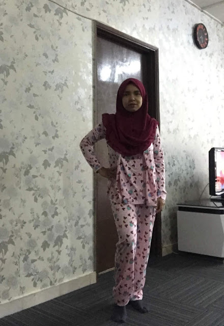 Set Baju Tidur Menyusu Mamaway