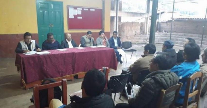 FONDEP encabezó mesa técnica para la implementación de proyectos de innovacion educativa en Pallasca - www.fondep.gob.pe