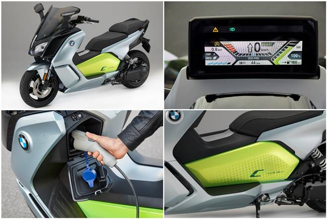 2017 BMW C Evolution Scooter Launching To US