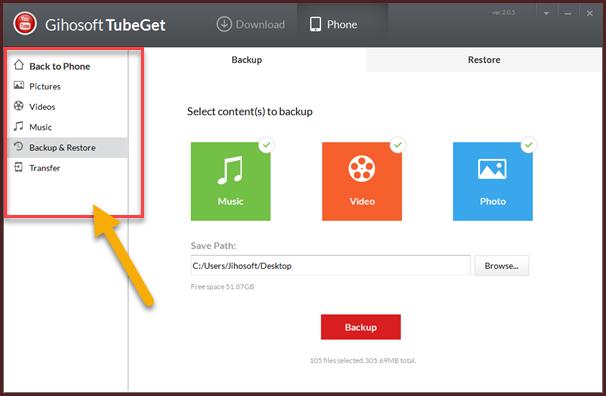 برنامج Gihosoft TubeGet لتحميل الفيديو من أكثر من 100 موقع ونقل الملفات وأشياء أخرى رهيبة يقوم بها