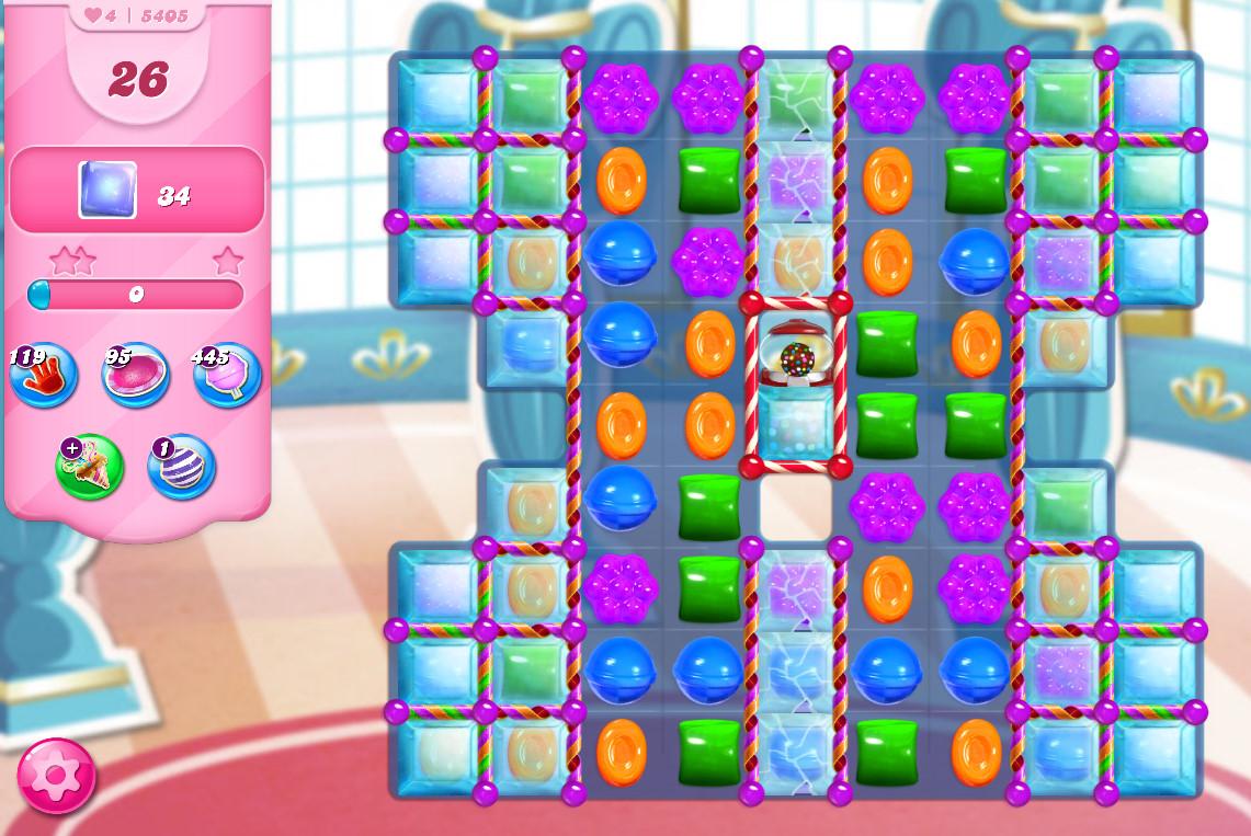 Candy Crush Saga level 5405