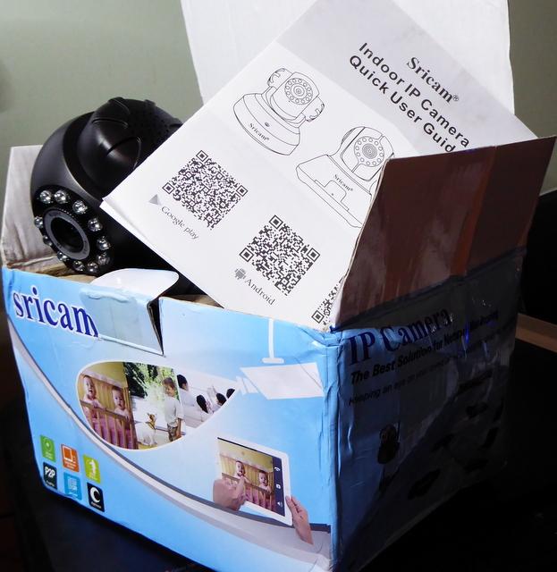 Sricam SP012 P2P HD IP Camera Review - Gadget Victims