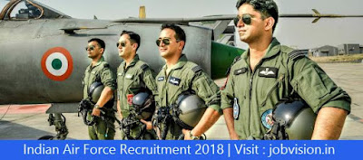 Indian Air Force Recruitment 2018 79 Group 'C' Posts | Educational Qualification :10th, 12th, ITI, Diploma | Last date to apply : 03.06.2018