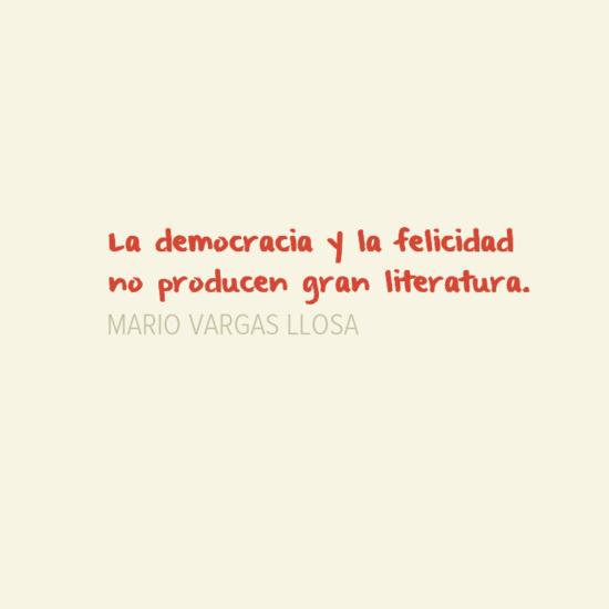 Democracia y felicidad