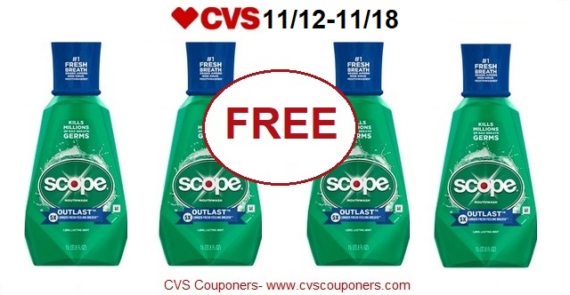 http://www.cvscouponers.com/2017/11/free-scope-outlast-mouthwash-at-cvs.html