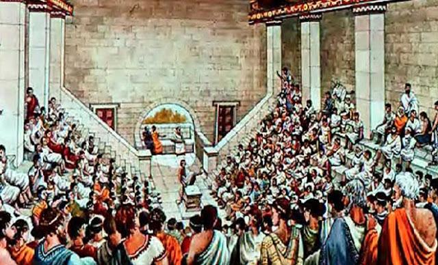βουλευτής στην Αρχαία Αθήνα
