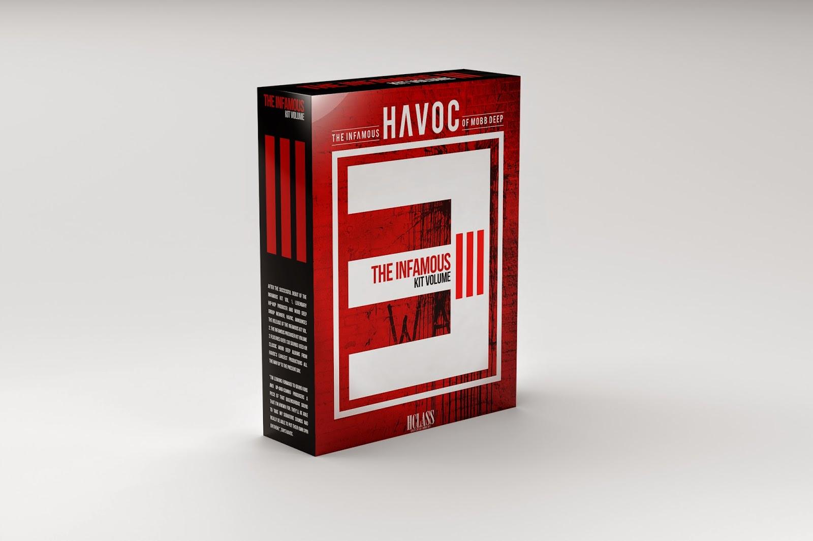 The Vinyl Frontier Havoc Infamous Drum Kit Volume 2 Amp 3