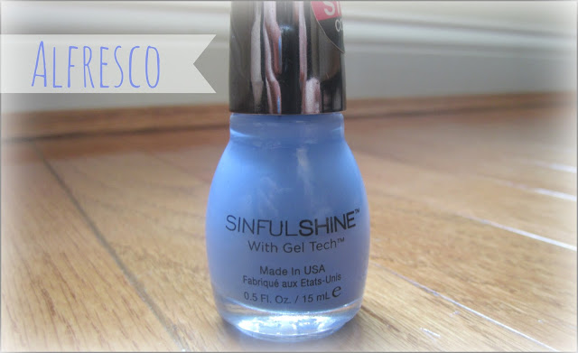 Sinful Colors Shine Gel Tech Nail Color in 'Alfresco'