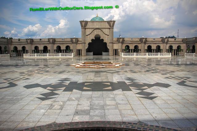 Courtyard, Wilayah Mosque, KL, Malaysia