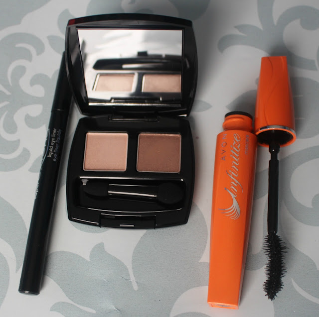 Photographs of my eye makeup purchases from Avon
