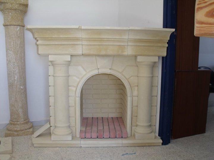 chemin e en pierre blanche d coration et coaching d coration tunisie. Black Bedroom Furniture Sets. Home Design Ideas