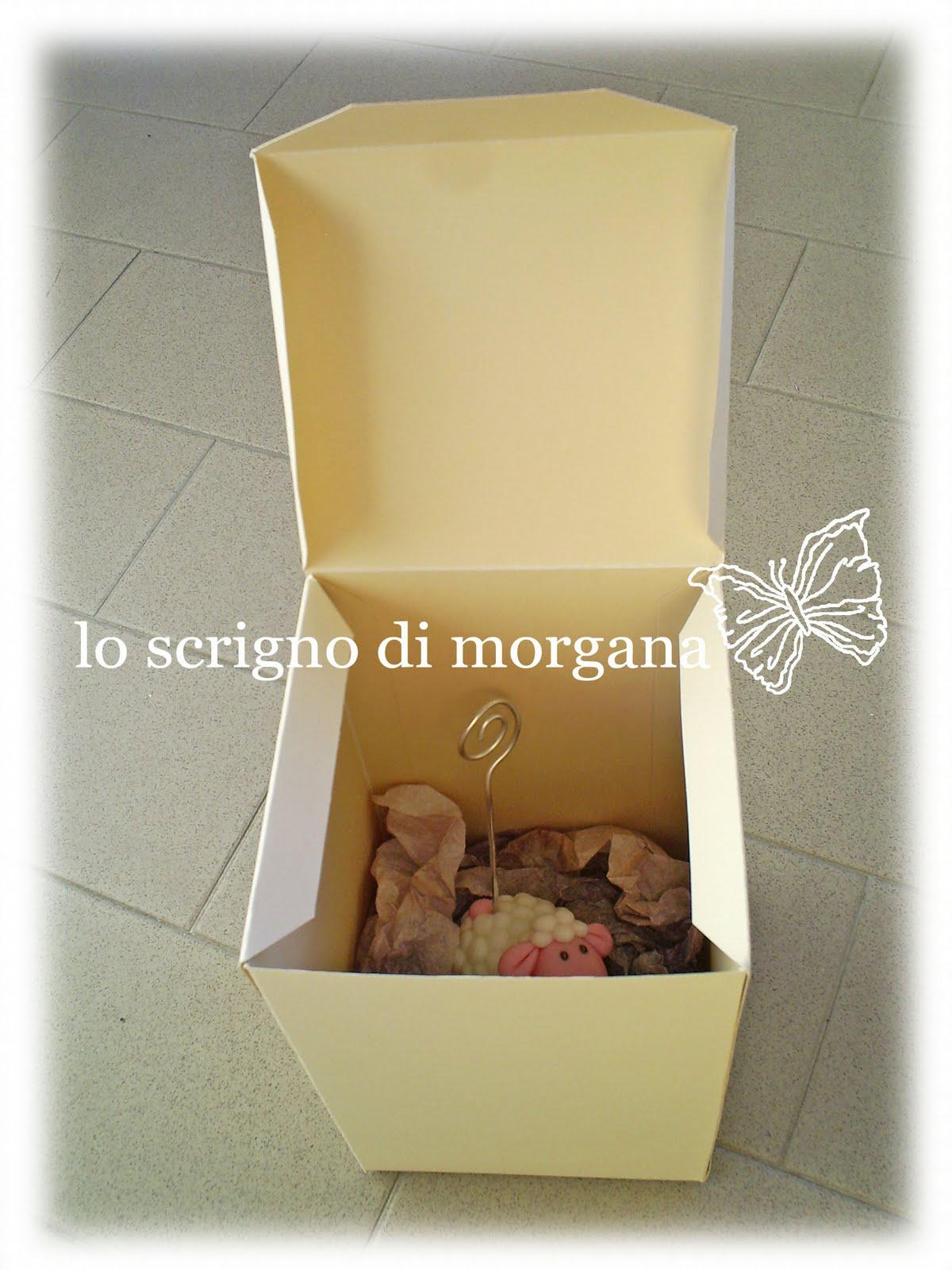 Famoso Lo Scrigno di Morgana: PATTERN SCATOLA IN CARTONE FAI DA TE GJ25