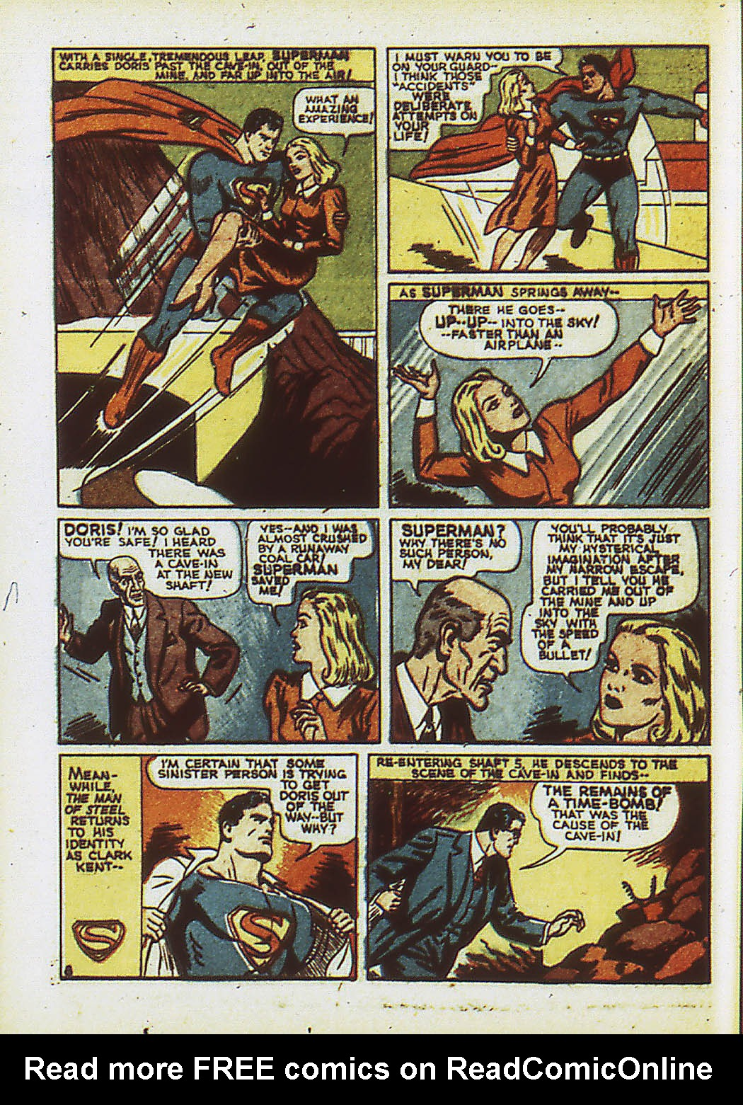 Read online Action Comics (1938) comic -  Issue #34 - 11