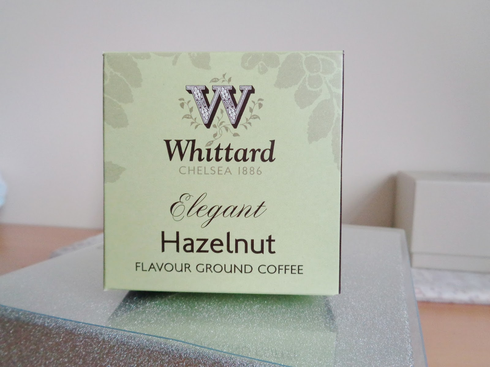 Whittards Hazelnut Flavour Ground Coffee