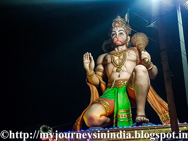Ramanagara Anjaneya Statue