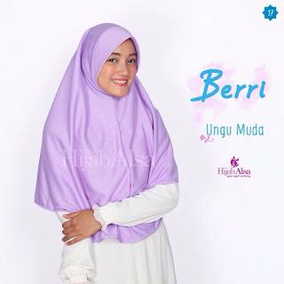 Hijab Alsa Berri Ungu Muda