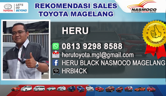 Rekomendasi Sales Toyota Magelang